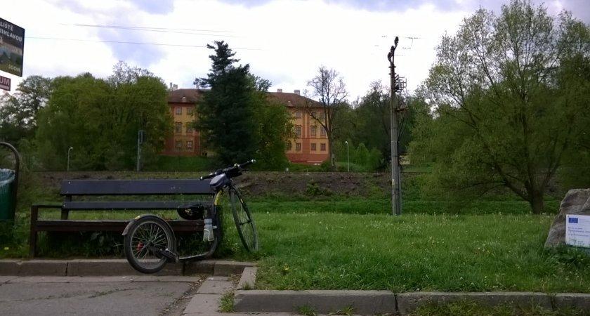 Kickbike Sport G4 v Lukách nad Jihlavou