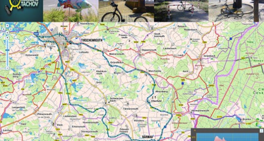 Mapa výletu