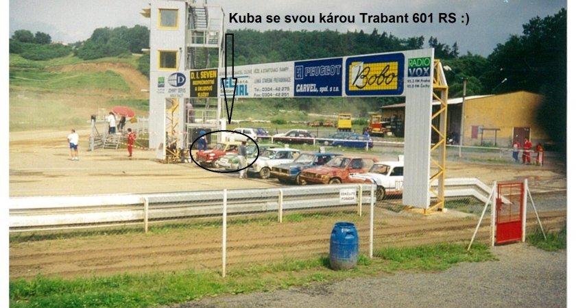 Devadesátá léta a rallyecross v podání Kubova Trabanta