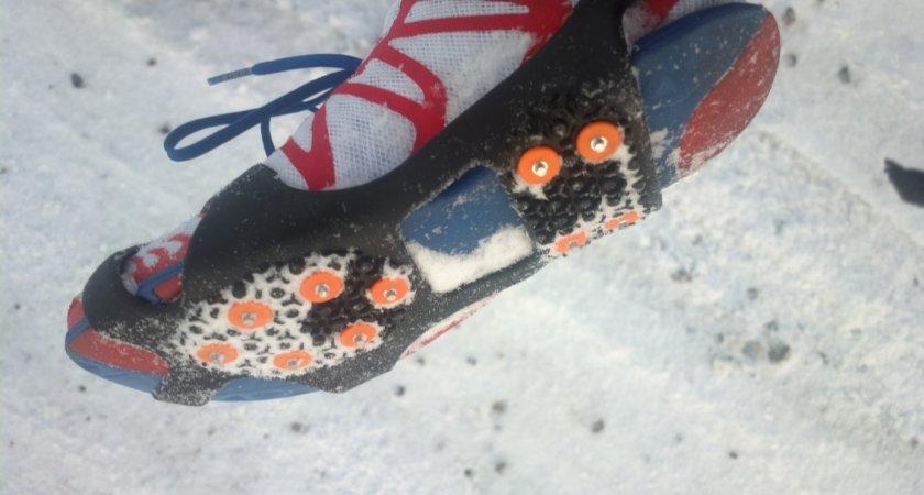 Takhle vypadají nesmeky nazuté na botě