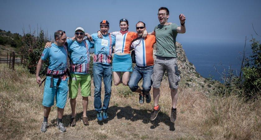 Davida, Jurek, Guido, Ella, Martin a Niklas / foto: Jiří Sejkora