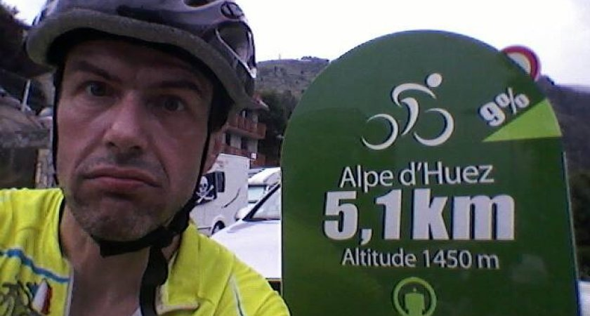 Guido na Alpe d´Huez 2013