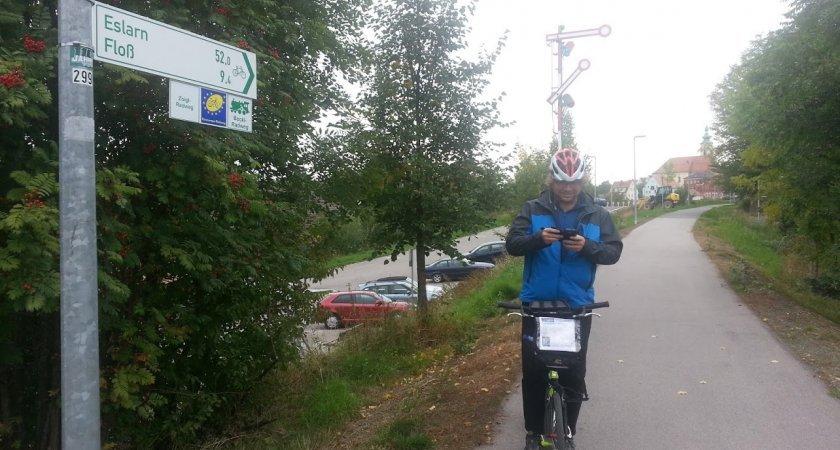 Parádní asfalt německých cyklostezek