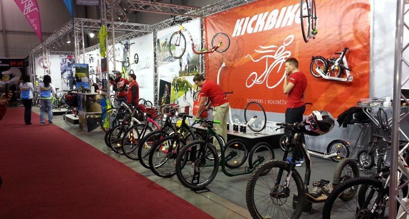 Kickbike - kompletní kolekce