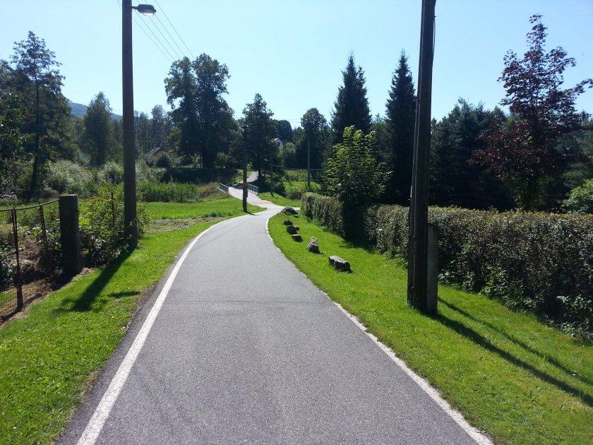 Cyklostezka v Oldřichově