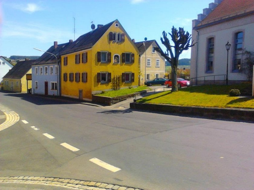 Klasická bavorská architektura