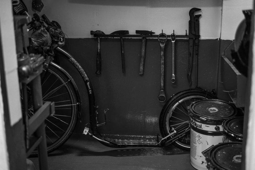 Kickbike na lodi / foto: La Trottineuse