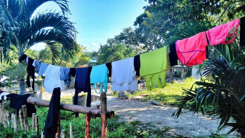 Občas je třeba vyprat prádlo / zdroj: Kam až dojedeme?