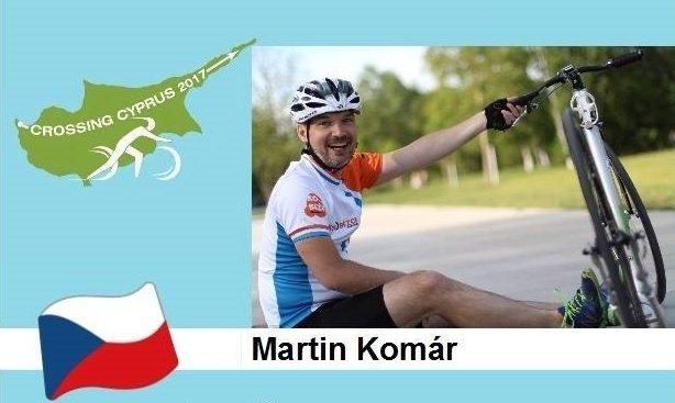Martin Komár, jeden ze dvou českých zástupců expedice