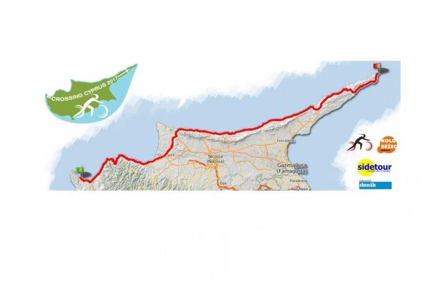 Mapa přejezdu