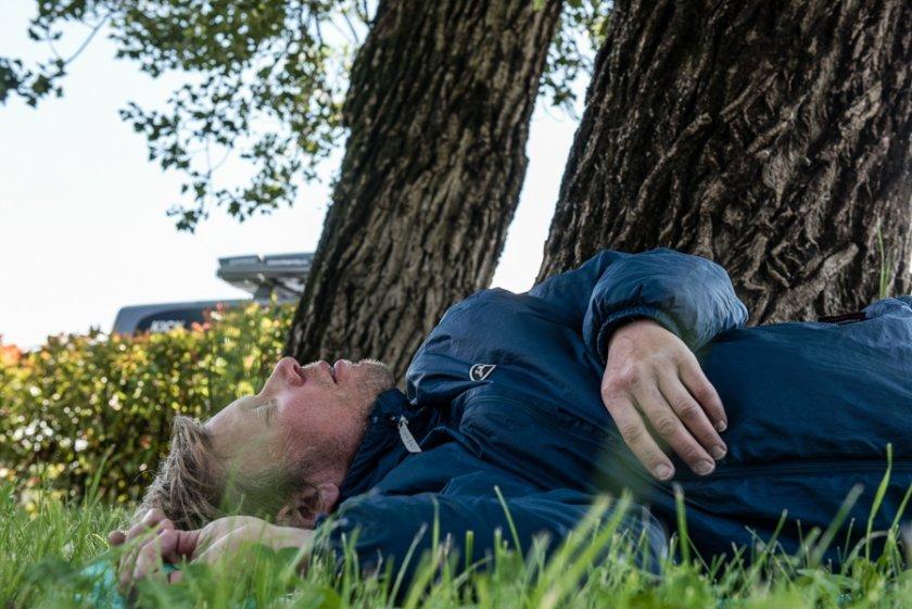 Alpo a jeho klasický dvacetiminutový spánek