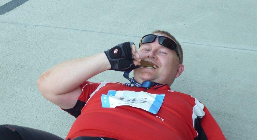 Padlý hrdina, přežil jsem svůj první koloběžkový závod