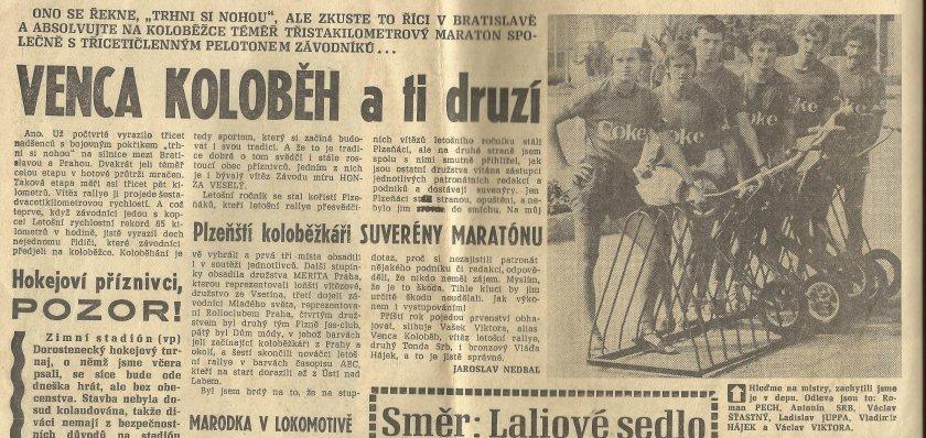 Václav Viktora a vítězství v Rallye