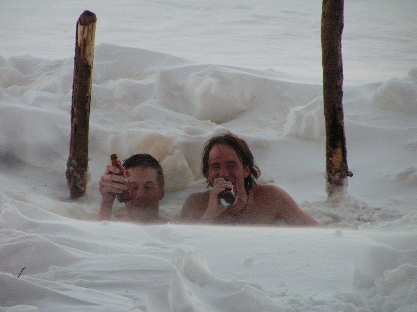 Pivo v jezeře - past na nefinské závodníky