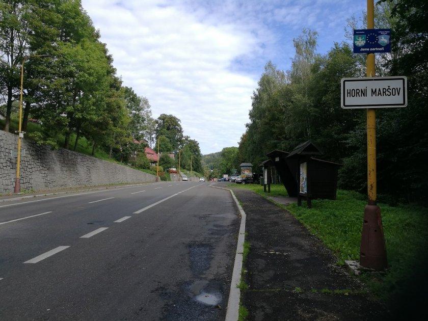 Start, Horní Maršov
