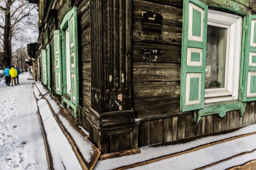 V dřevěných domech se stále bydlí