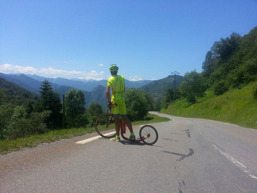 9. etapa, krásné pasáže zapadlých pyrenejských končin