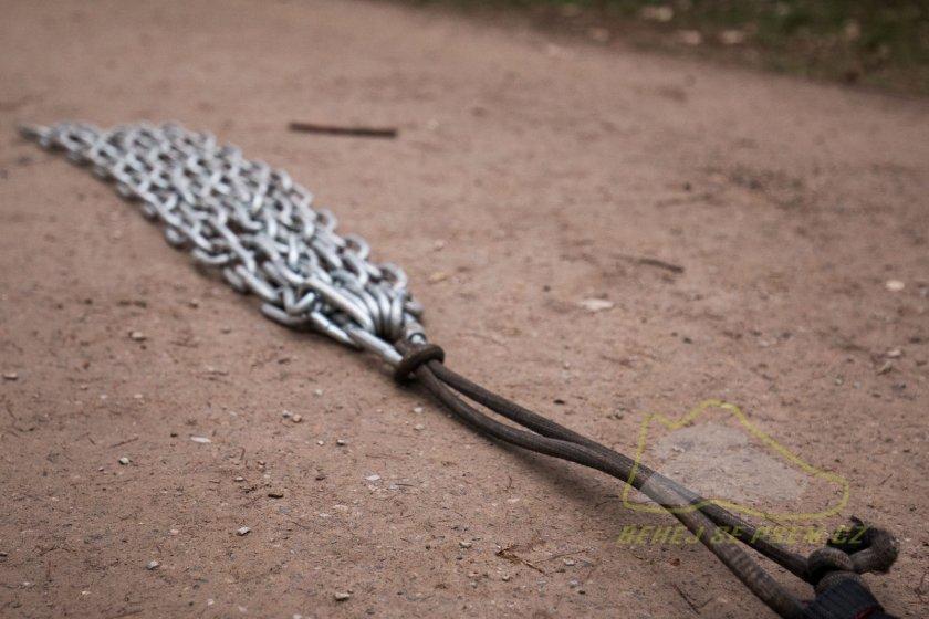 Krátké a lehké řetězy vám skvěle poslouží k tréninku nováčků